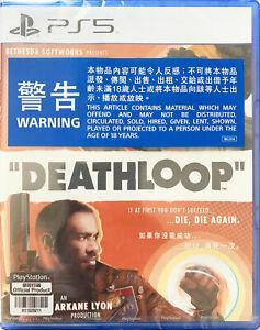 PS5 PlayStation 5 Deathloop 死亡循环 HK Chinese/English version ELAS10092 Video Game