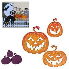 Jack O'Lantern Metal Die set Cheery Lynn Cutting Dies B594 pumpkins Halloween