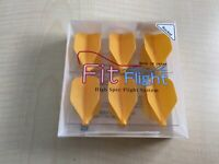Cosmo Darts Fit Flight Flight Rocket Orange 6 pieces