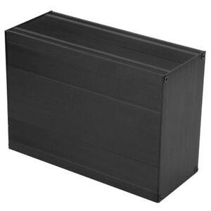 Acogedor Aluminiumgehäuse für Projektbox Instrumentenbox Elektronischer Verstär