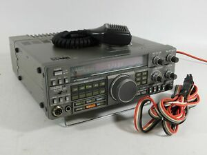 Kenwood TS-440S Ham Radio Transceiver w/ Filters + Mic + Cable (works great)