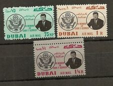 Dubai 1964, in Memory of John F. Kennedy, postfrisch, Mi.-Nr. 54 - 56 B