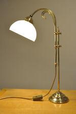 Original Berliner Messinglampe / Jugendstil / Sekretärleuchte|
