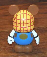 "Walt Disney Vinylmation Color Block Series Woody 3"" Inch Collectible Figurine!"