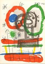 JOAN MIRÓ ORIGINAL Lithografie - Sternzeichen ZWILLINGE - Werkverz. WEBER No 370