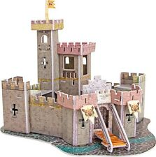 "Puzzle 3D tridimensionale ""Castello medievale"", 37 pezzi, scatola cm 30x22"