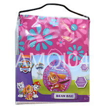 Paw Patrol Bean Bag Skye Girls Pink 100L Capacity New