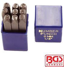 BGS Tools Figure Punch Set 8mm 3038