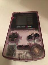 GameBoy Color Handheld System Clear