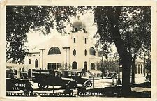 RPPC Methodist Church Oreville California 1937 Postcard