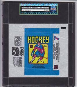 1979-80 O-Pee-Chee NHL Hockey Wax Pack Wrapper iCert Grade NM+ 7.5 Gretzky
