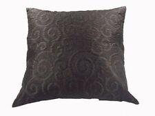 Cojines decorativos de color principal negro con 45 cm x 45 cm para el hogar