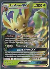 LEAFEON GX 13/156 -ULTRA PRISM Pokemon Card- HOLO-ULTRA RARE-MINT