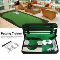 Tragbares Golf Putter Set Kit für die Indoor Golf Putting Praxis