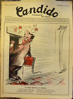 RIVISTA D'EPOCA CANDIDO N.18 1957 DIRETTORE GIOVANNINO GUARESCHI