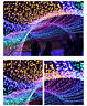 USA 100 LED 33ft Christmas Tree Fairy Light String Party Lights Waterproof Lamp