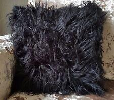 """large cushion cover or cushions long Shaggy faux fur cushions 21x21"""" or 17x17"""""""
