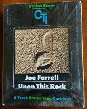 SEALED JOE FARRELL UPON THIS ROCK 8-TRACK OG '74 CTI CT8 6042 HT RARE JAZZ FUNK