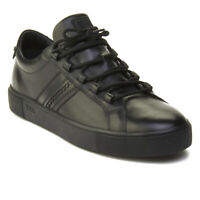 Tod's Men's Leather Sneaker Shoes Black