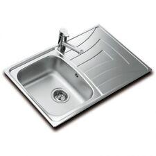 Fregadero lavabo cocina Teka Universo 79 1 cubeta 1 escurridor a la izquierda