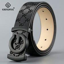 Men Luxury Belt Genuine Leather Designer Belt High Quality Fashion Strap For Men