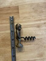 Naughty Boy Corkscrew Wine Bottle Opener Christmas White Elephant Solid Metal NR