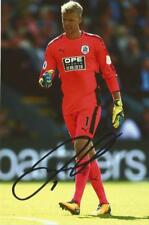 HUDDERSFIELD: JONAS LOSSL SIGNED 6x4 ACTION PHOTO+COA