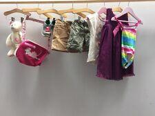 Chicas paquete de ropa edad 2-3 Inc Nike zapatos talla 8 1/2 Traje de Baño < C1534