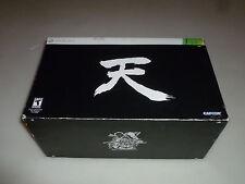 NEW XBOX 360 STREET FIGHTER 25TH ANNIVERSARY COLLECTORS SET RYU STATUE ART BOOK