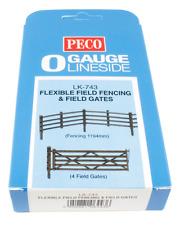 Peco LK-743 Flexible Field Fencing and Field Gates O Gauge
