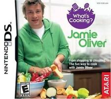 What's Cooking Jamie Oliver Chef DS/Lite/DSi/XL/3DS NEW
