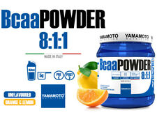 Yamamoto Nutrition Bcaa POWDER (polvere) 8:1:1 300 grammi (gusto Limone-Arancio)