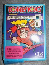 Intellivision Donkey Kong cartridge. Boxed inc Instructions