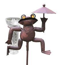 Frosch gartenstecker aus metall g nstig kaufen ebay for Gartenstecker metall rostoptik