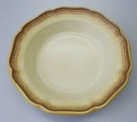 "Mikasa Whole Wheat Rimmed Serving  Soup Vegetable Pasta Bowl 8.5"" E8000"