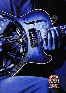 BLUES & ROOTS Musical Festival BYRON BAY 2003  -  A4 size PRINT + FREE POST
