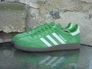 2013 Adidas Handball Spezial UK9.5 / US10 Apple Green White Special Rare