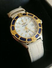 Breitling Lady J Class 18k gold & stainless steel ladies watch D52065