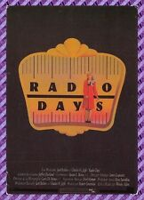 Carte postale Affiche de Film - Radio Days