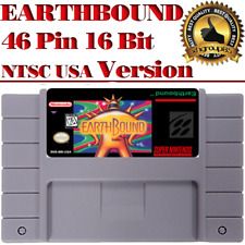 Earthbound SNES 46 Pin 16 Bit NTSC Game Card For USA Version