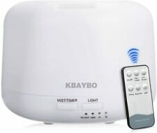 KBAYBO Mini Cylinder 300ML Ultrasonic Air Aroma Diffuser Humidifier Remote New