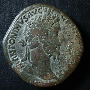 Marcus Aurelius Sestertius 174-175 Liberalitas RIC 1147 Sesterce Marc Aurèle