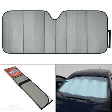 Reflective Gray Foil Car Sun Shade Jumbo Reversible Folding Windshield Cover