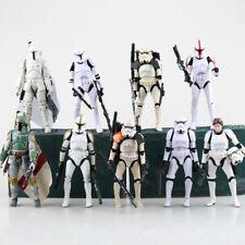 """6"""" Black Series Star Wars PVC Action Figure Darth Vader Boba Fett Stormtrooper"""