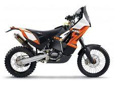Ktm 450 Rally Maisto 1 18 negro naranja modelo motocicleta de metal fundido
