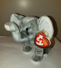 Ty Beanie Baby - SHOCKS the Elephant - MINT with MINT TAGS