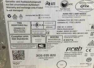 VW Passat Steuergerät 3G B8 3G5035820