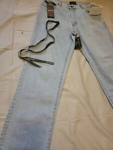 $990 Gucci stone colored Denim Tapered Pant /Jeans