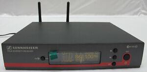 Sennheiser EW 100 G3,E-Band,823-865 MHz True Diversity Receiver Empfänger EM 100