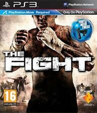 The Fight (PS3, 2010) Region Free Move Disc Mint Brand New Case J1L